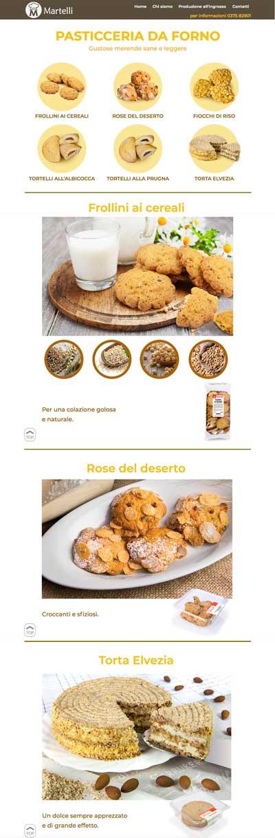 sito web Martelli prodotti