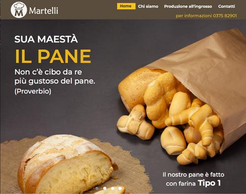 sito web martelli preview