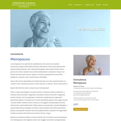Consulenza menopausa